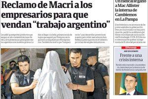 Las tapas de los diarios del lunes: Con la victoria de la UCR en la interna en La Pampa, arrancó el año electoral
