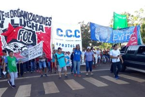 El miércoles habrá manifestaciones en más de 10 localidades misioneras contra el tarifazo