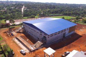 Avanzan las obras en Oberá para la máxima cita mundial de futsal