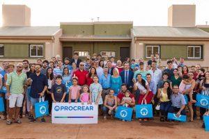 Entregaron las primeras viviendas del ProCreAr en Posadas
