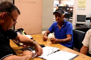 Recuperadores urbanos se inscriben al Programa de Sustitución de Vehículos de Tracción a Sangre Animal