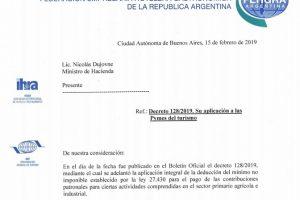 """FEHGRA solicita que se incluya a las pymes del sector al """"alivio fiscal"""""""