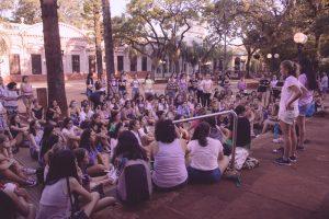 Marchan y piden la emergencia nacional por casos de femicidios en el país