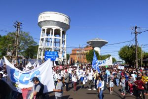 Jornada de lucha nacional: En Misiones también se sintió el reclamo contra las políticas de Macri