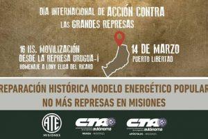 """Represas en Misiones: ATE exige """"reparación histórica"""" y construir """"un modelo energético popular"""""""