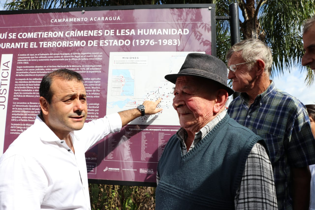 Campo Grande: con la presencia de Herrera Ahuad, se hizo la señalización del Campamento Acaragua