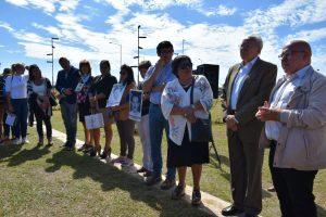 Losada participó del acto por la Semana de la Memoria