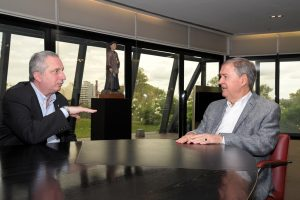 Passalacqua dialogó con Schiaretti sobre la visión del país y la cooperación entre Misiones y Córdoba