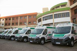 Entregaron 10 ambulancias a hospitales de Posadas, Oberá, Eldorado, Iguazú y Colonia Victoria