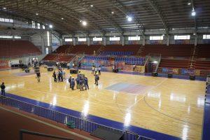 Mundial de Futsal: Passalacqua recorrió las nuevas instalaciones de la sede Montecarlo