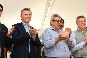 Macri y Ramón Ayala participaron de un acto en en la Expoagro 2019