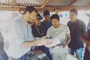 Promueven mejores condiciones de vida para la comunidad Aguaí Poty de Colonia Mado