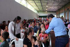 Herrera presentó las carreras de Enfermería y Administración Contable que se dictarán en San Pedro