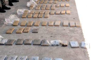 La Policía de Misiones secuestró 118 kilos de marihuana y detuvo a una pareja en el barrio A 3-2