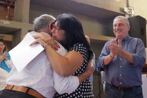 Passalacqua entregó certificados de formación pedagógica a docentes de oficios en Leandro N Alem