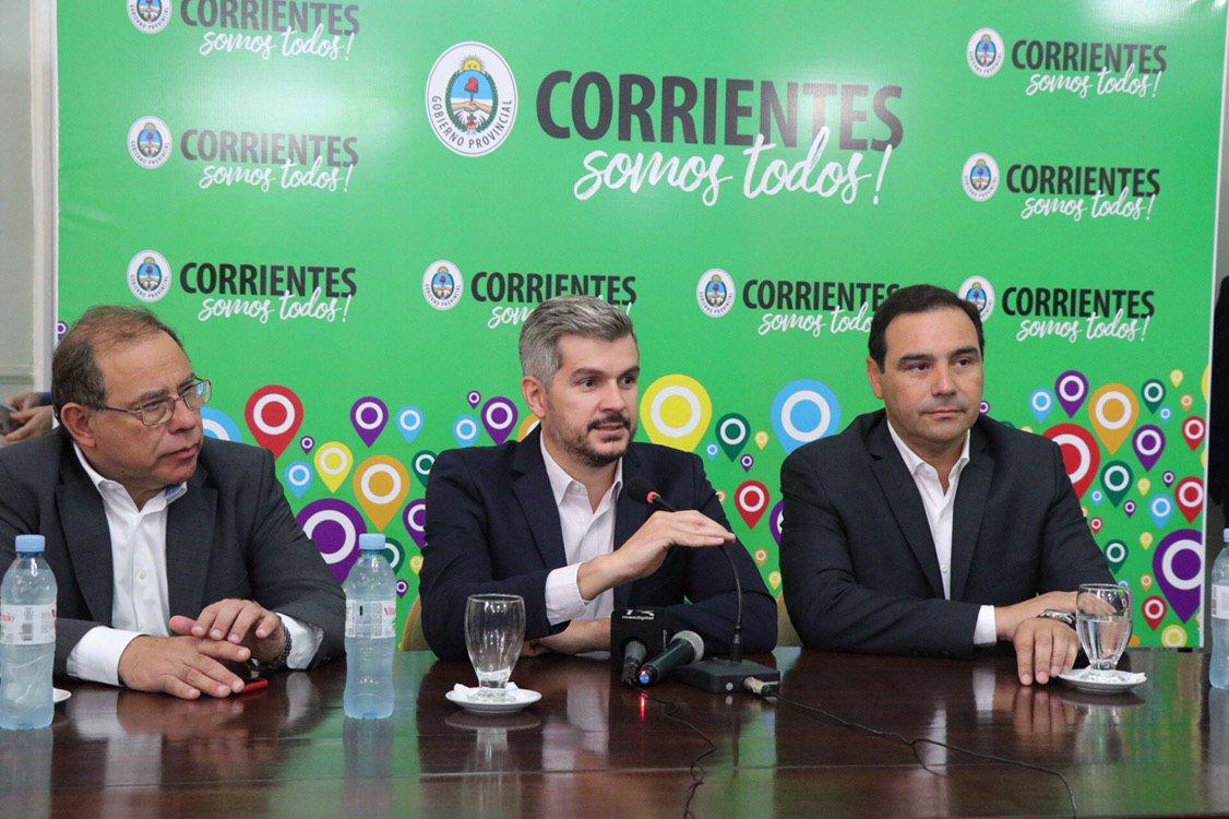 """Marcos Peña ratificó el rumbo económico: """"creemos más que nunca que tenemos que seguir juntos, hacia adelante"""""""