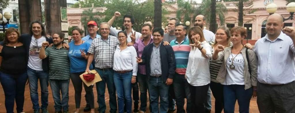 """Agrupaciones peronistas apoyan la candidatura de Mario """"Pichi"""" Esper Perié como legislador provincial por el FPAyS"""