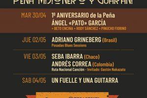 Blues internacional, canción latinoamericana y chamamé del puro: una nueva semana en Misionero y Guaraní