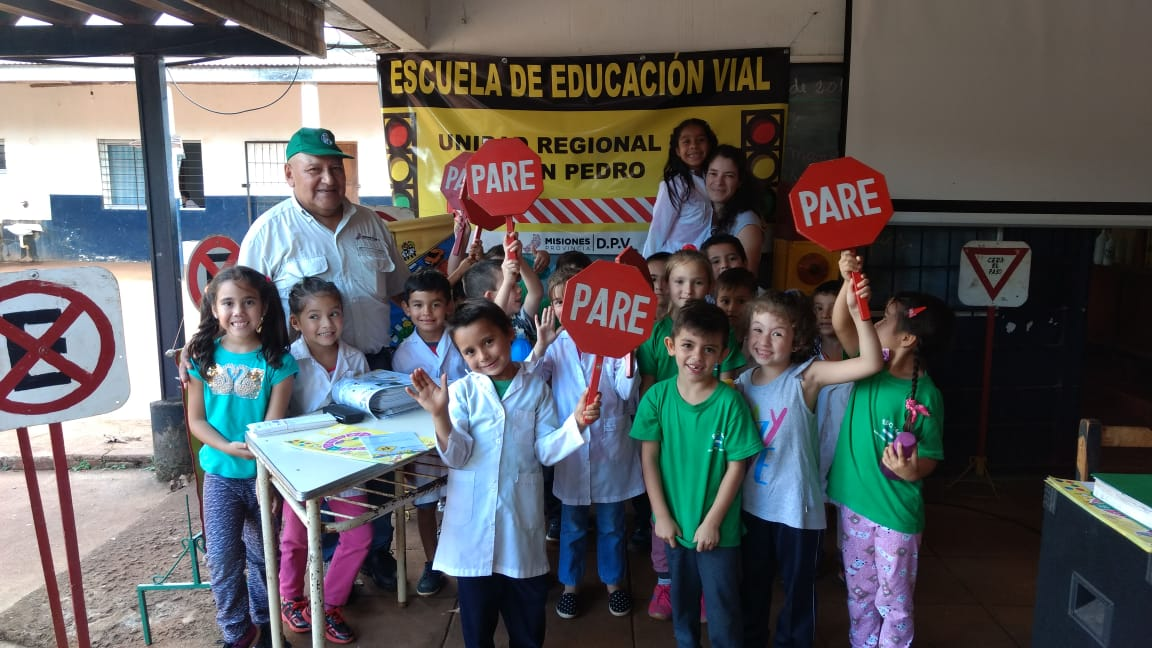 Más de 300 alumnos de San Pedro recibieron capacitación vial