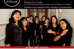 El tango se viste de mujer con Euterpe