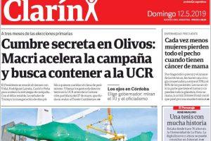 Las tapas del domingo 12: Cumbre en Olivos para contener a la UCR y la caída de River