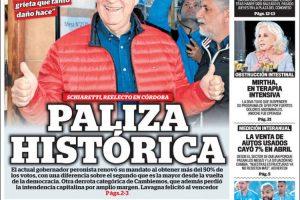 Paliza histórica en Córdoba: ¿Y si está todo planeado y es parte de un plan de salida de Macri?