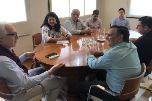 Lenguaza se reunió con referentes de la CEM para conocer sus necesidades