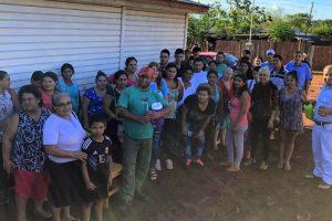 Reclaman agua potable y títulos para 470 familias que hace 20 años viven en la chacra 145