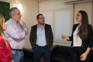 Passalacqua recibió a la candidata a intendente de Posadas, Luciana Scromeda