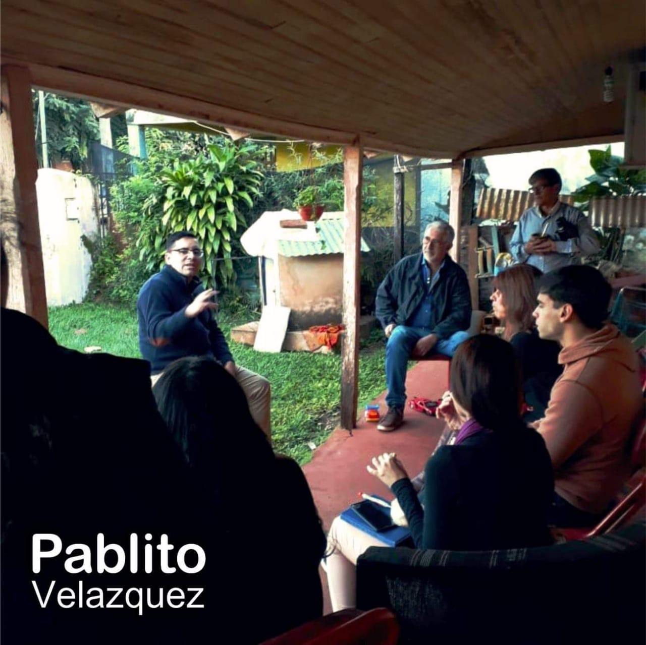 """Pablito Velázquez: """"Siempre estuvimos con la gente y desde los barrios nacerá nuestra gestión"""""""