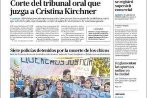 Las tapas del viernes 24: Indignación por la persecusión fatal en San Miguel del Monte, donde murió un misionero
