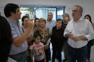 """Passalacqua visitó el barrio colonia Aeroparque y el SUM construido a través del Presupuesto participativo"""" de Posadas"""