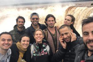 Aprovechando la visita a Misiones, no podía faltar un recorrido por las Cataratas.