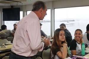 """Encuentro de centros de estudiantes en Posadas: """"Es importante escuchar las ideas de los jóvenes para nuestra ciudad"""", dijo Stelatto"""