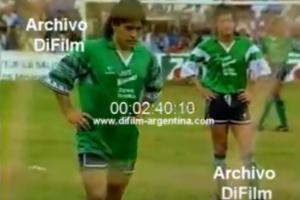 A 27 años, Diego Maradona recordó su paso por Posadas