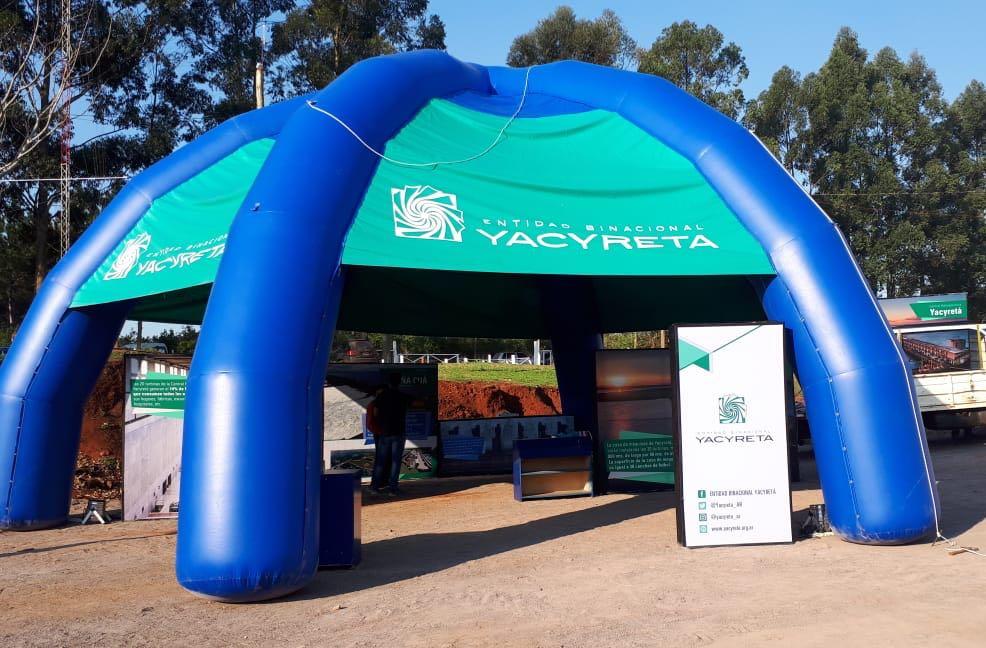 La EBY participa en la 36° Fiesta Nacional de la Madera