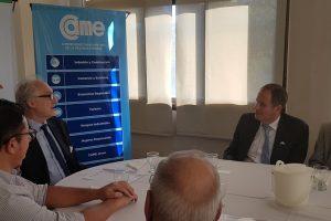 Potencialidad de negocios e innovación ejes de encuentro entre la CEM y el embajador de Israel