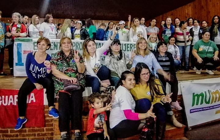"""El FPAyS puso en valor """"la solidaridad entre pares"""" en un Encuentro Provincial de Mujeres"""
