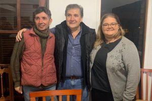 Rolo Dalmau apoya la candidatura de Giuliana Perini a intendenta de Oberá