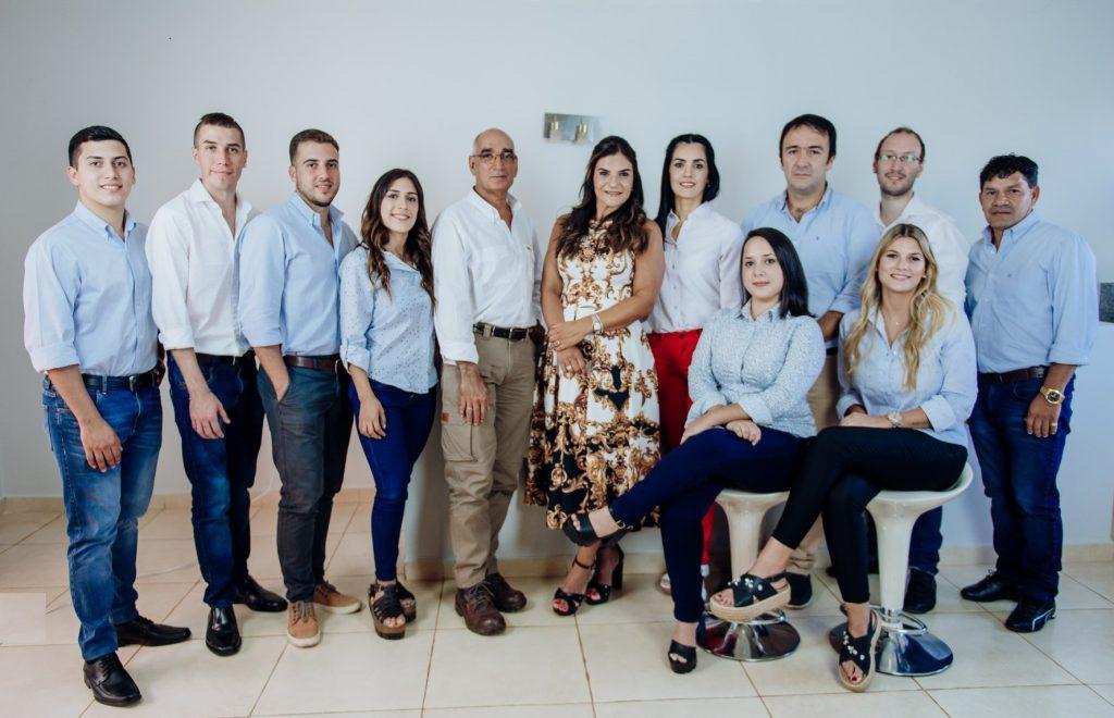 Silvana Ratti tiene un joven equipo de colaboradores.