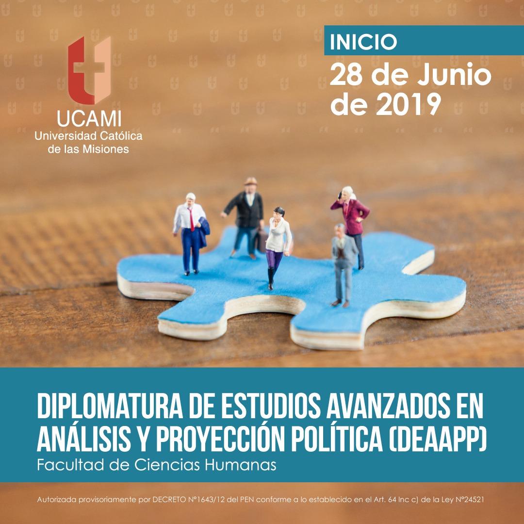 La UCAMI propone una Diplomatura de Estudios Avanzados en Análisis y Proyección Política