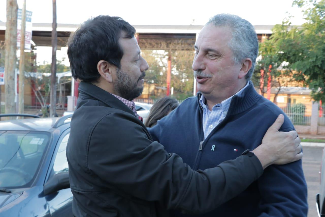 Passalacqua visitó a candidatos a intendente de Posadas