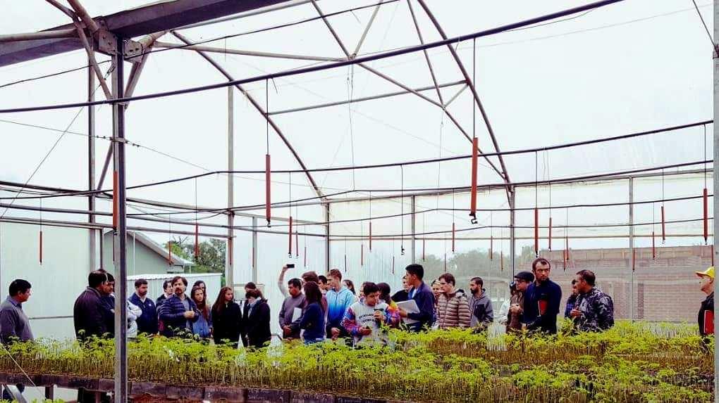 Comenzó el curso de operación y mantenimiento en sistemas de riego en viveros