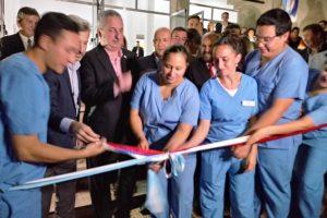Passalacqua y Frigerio inauguraron la ampliación de la Escuela de Enfermería