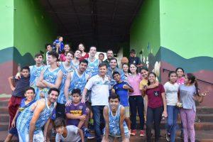 Jugadores de OTC compartieron una jornada con chicos del B° Sapucay