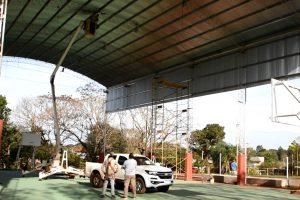 Presupuesto Participativo: el municipio finaliza la puesta en valor del playón deportivo de barrio Jardín