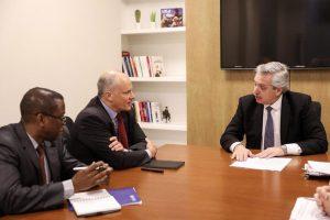Alberto F. se reunió con el FMI y lo acusó de violar sus propias normas