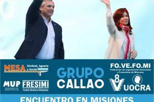 El grupo Callao desembarca en Misiones