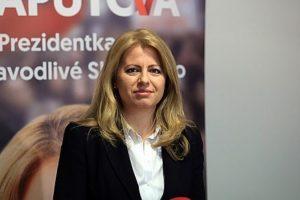 La primera presidenta mujer de Eslovaquia juró ante el parlamento