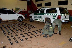 Dos paraguayos fueron detenidos con 83 kilos de cocaína en Misiones